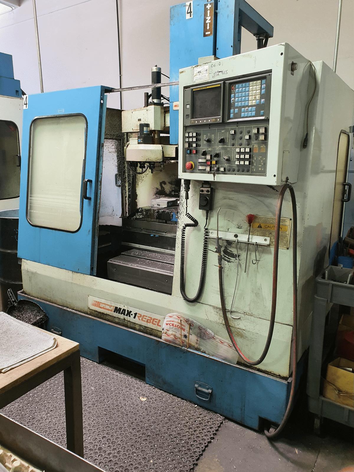 Supermax Max-1 Rebel CNC Mill