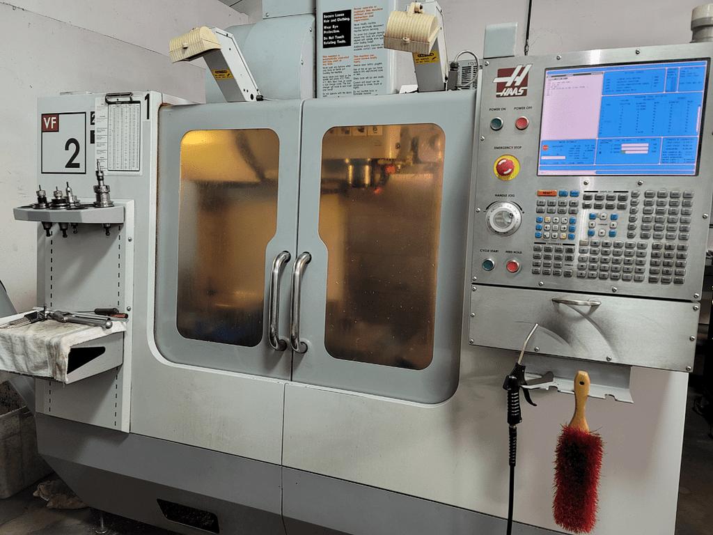 Haas VF-2B CNC Mill