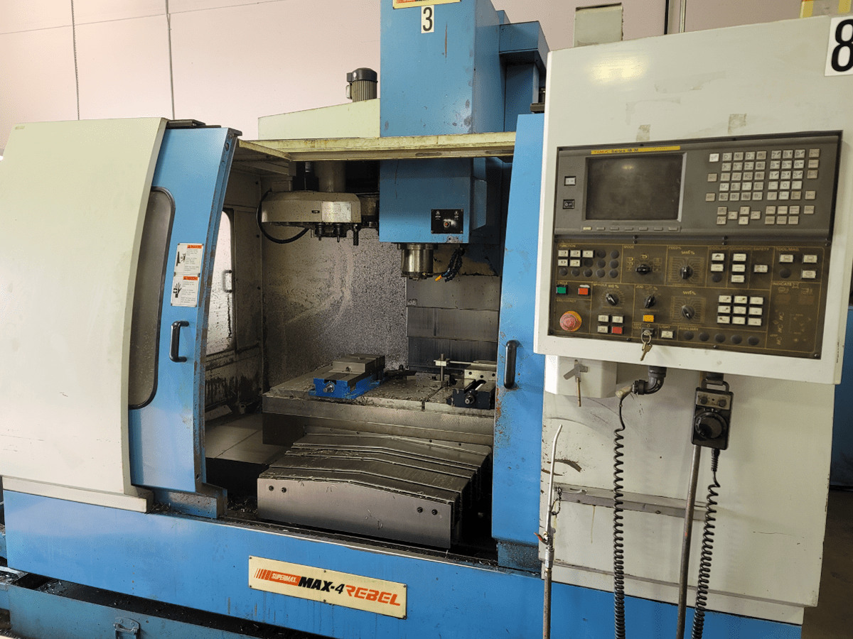 Supermax Max-4 Rebel CNC Mill